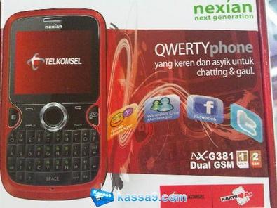 Hape Nexian G381 Telkomsel 299rb   UtedzZ Blog   Eazy 'n Simple